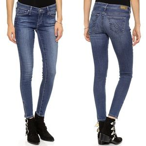 Adriano Goldschmied The Zip-Up Legging Ankle Jeans